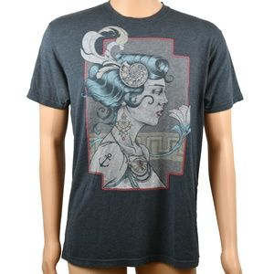 Men's Graphic T-Shirt Curbside Gray